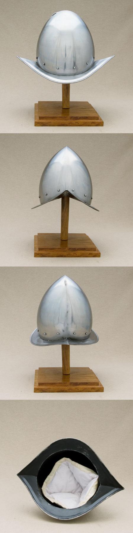 Medieval pikemen's helmet Cabasset