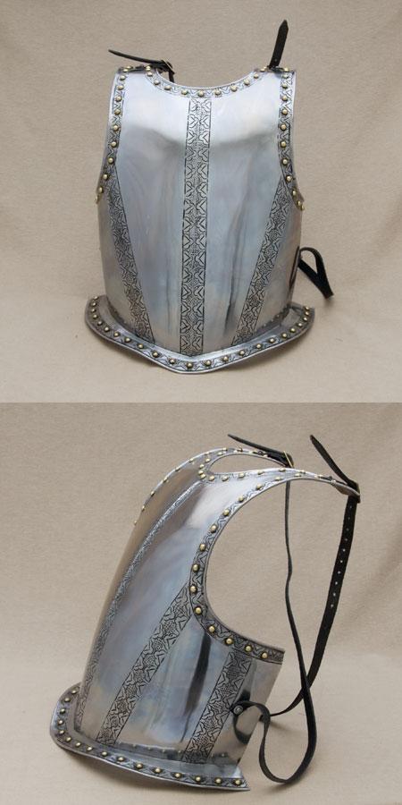 Medieval breast plate