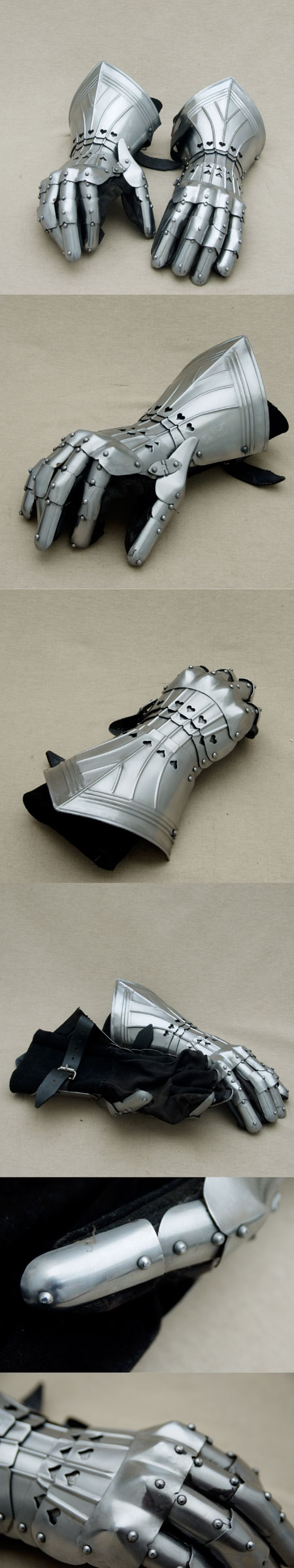 Medieval Gauntlets, stunning quality replica