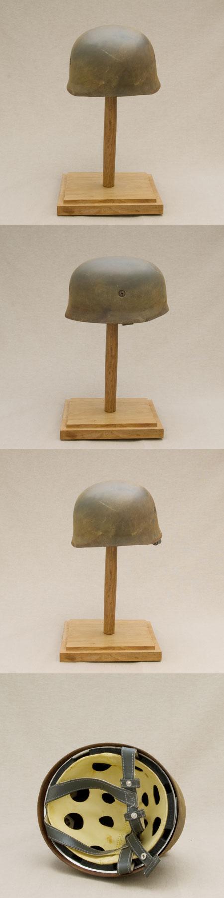 German Paratrooper helmet, WW 2, camouflage