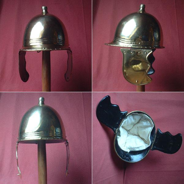 Roman Montefortino helmet, 3rd cent. BC,