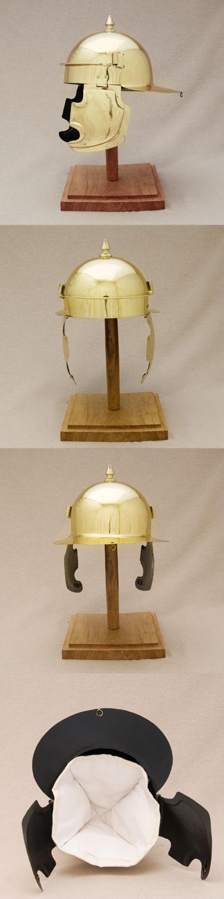Roman Coolus E helmet (100 AD) f. reenactors
