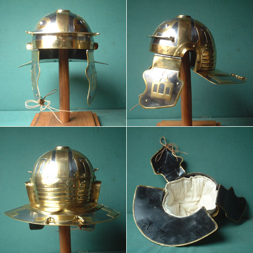 Roman legion helmet (100 AD) Italic D (Krefeld)