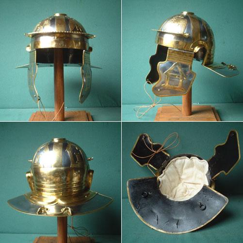 Roman legion helmet (100 AD) for reenactors,Italic D