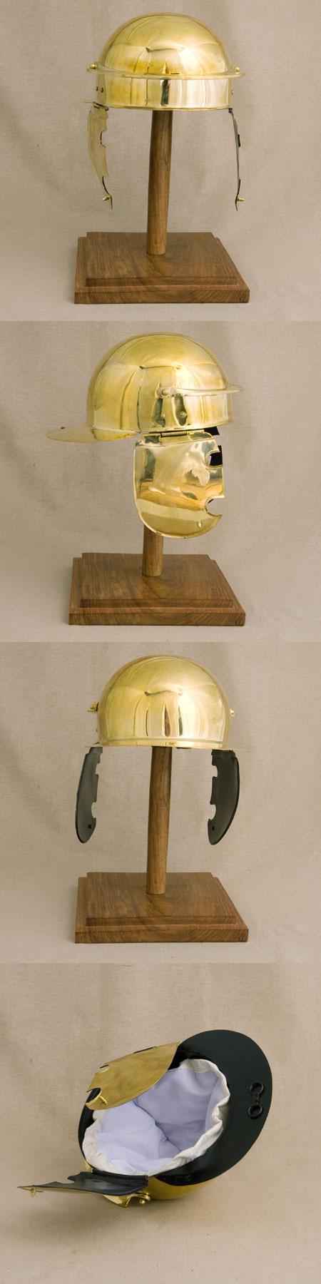 Roman legion helmet Coolus C for reenactors