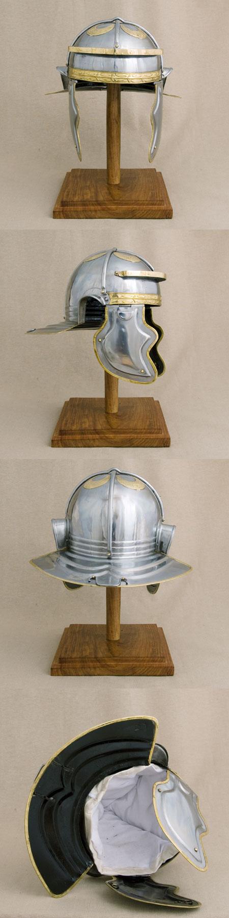 Roman Italic G reenactors helmet (100-150 AD)