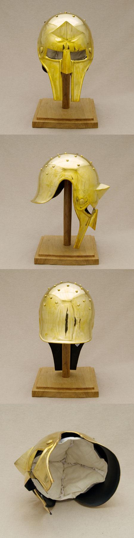 Roman film helmet, Gladiator Maximus