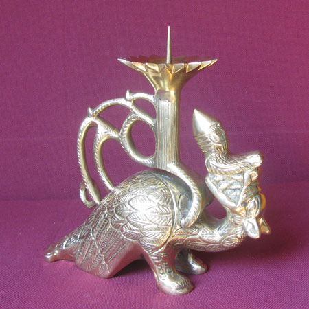Roman dragonlamp candle holder
