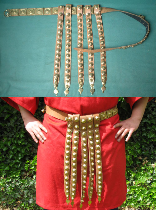 Roman legionary's belt cingulum