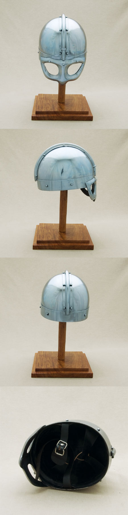 Viking Helmet w. spectacles visor, 900 AD,