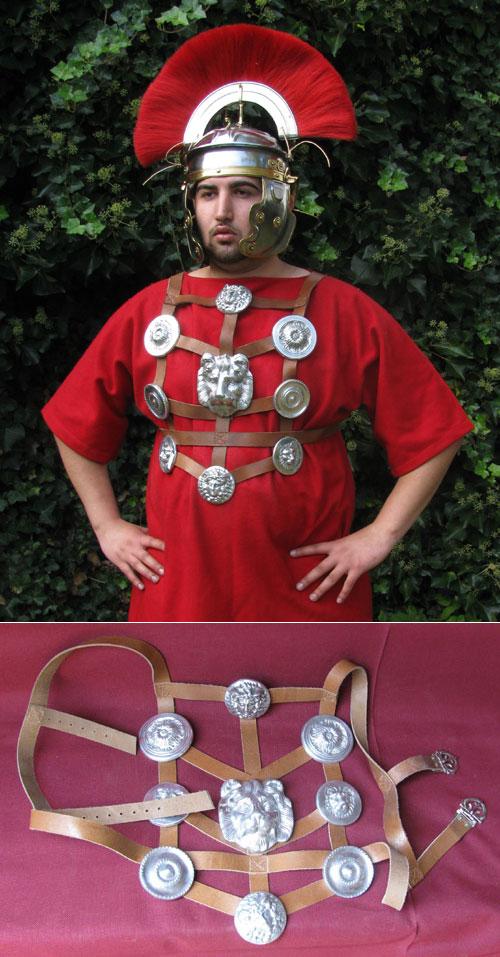 Roman set of cast aluminum reenactors' phalerae