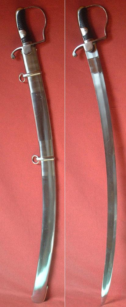 Cavalry sabre, Prussia M 1811, Blücher