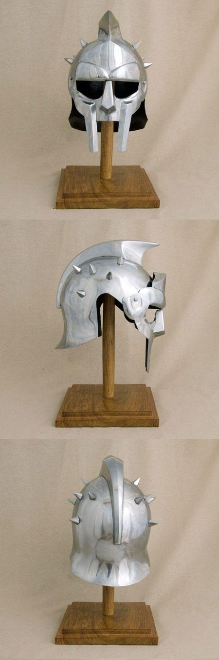 Roman film helmet Gladiator - Maximus