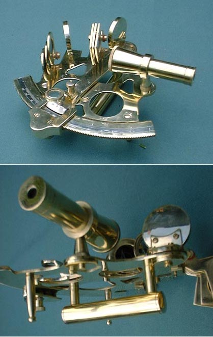 Marine Sextant (demonstration model)