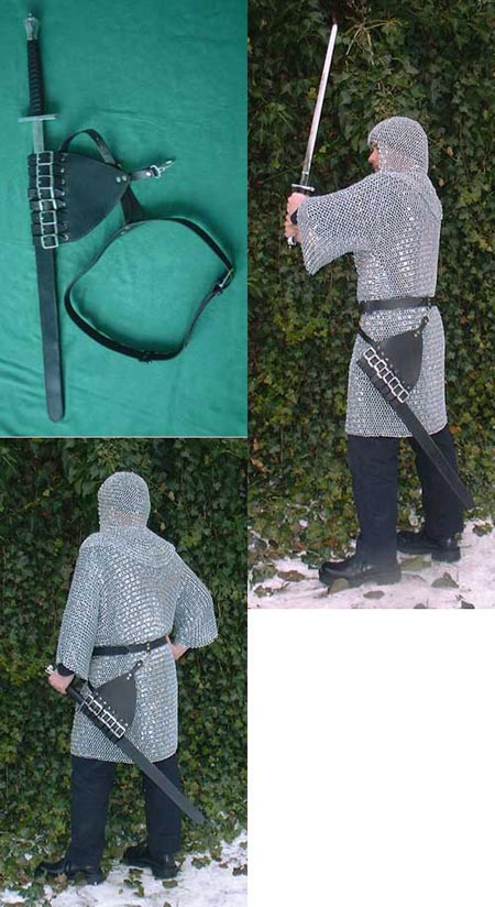 Carrying belt for swords