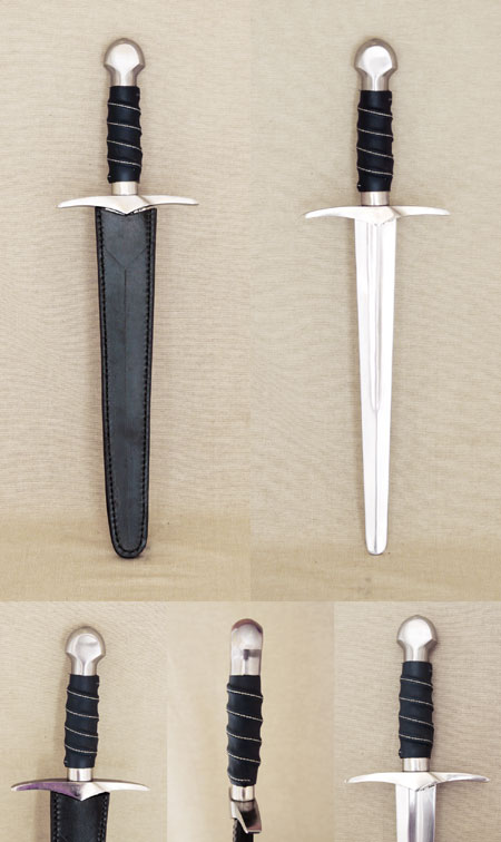 Gothic battle dagger, 15th century