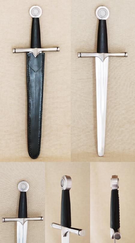 Gothic battle dagger,15th century