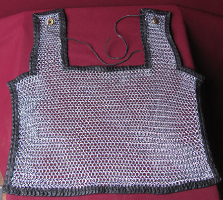 Chainmail cape for legionnaires, Rome 2nd cent. BC