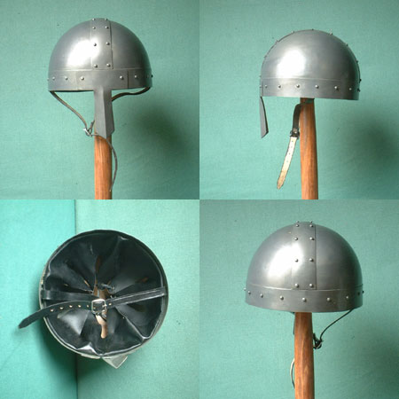 Norman Helmet or Viking Helmet w. nose guard