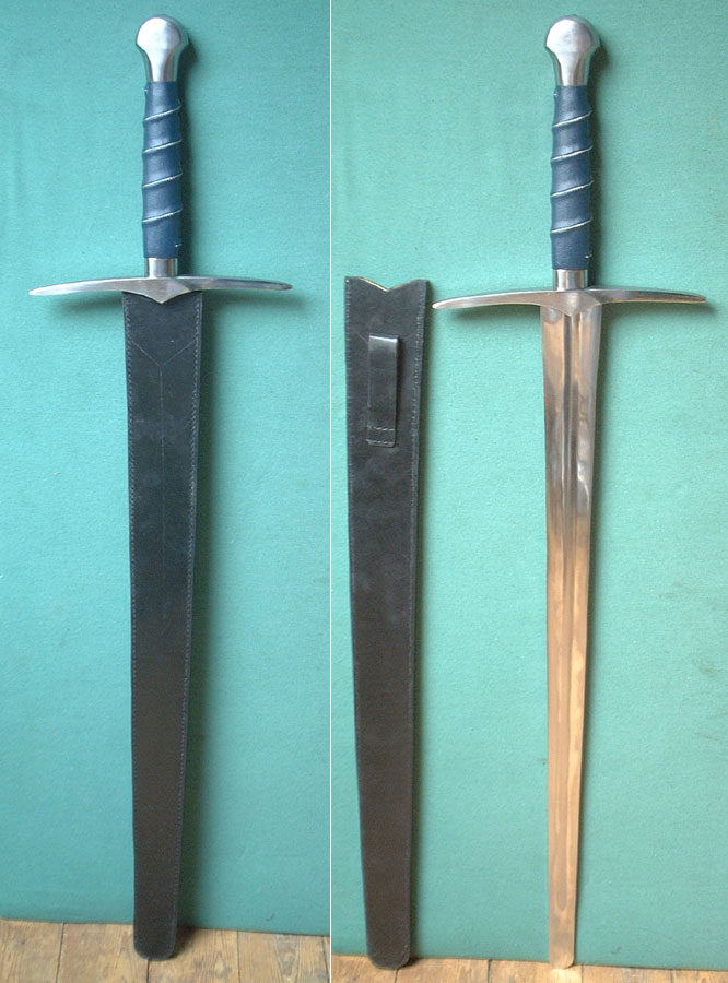 Gothic battle sword 15th century