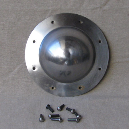 Steel shield boss, suitable for shields P24/P24V