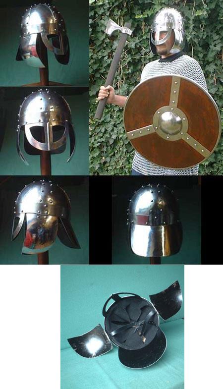 Viking Helmet w.spectacles-like visor, 900 AD