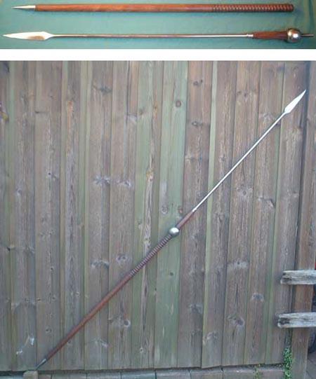Roman pilum, heavy javelin, 1st century A.D.