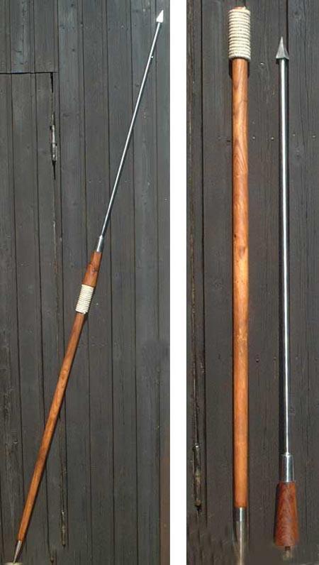 Roman pilum, heavy javelin, 2nd century A.D.
