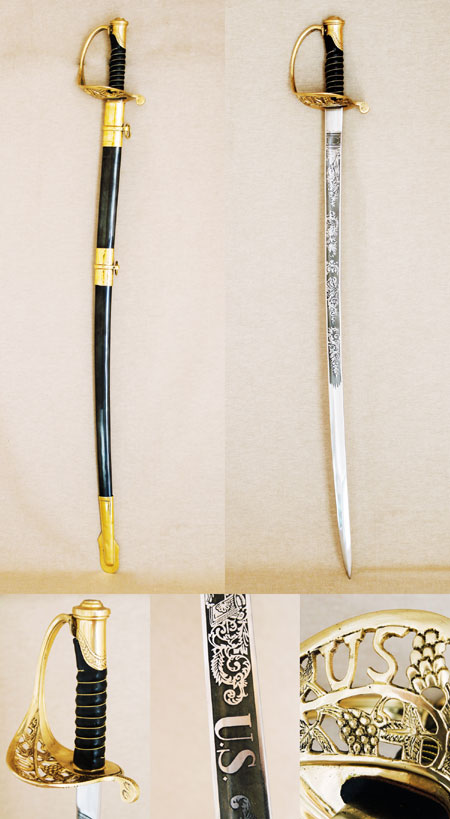 US Civil War Officer's Sabre ( Replica )
