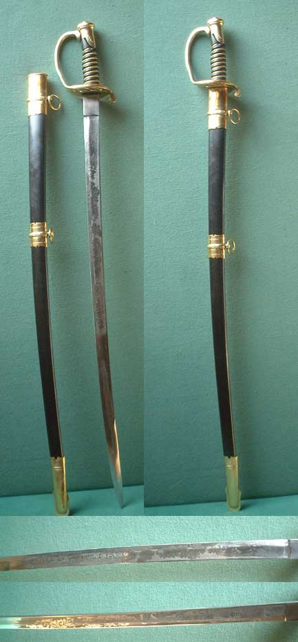US Civil War Cavalry Officer's Sabre ( Replica )