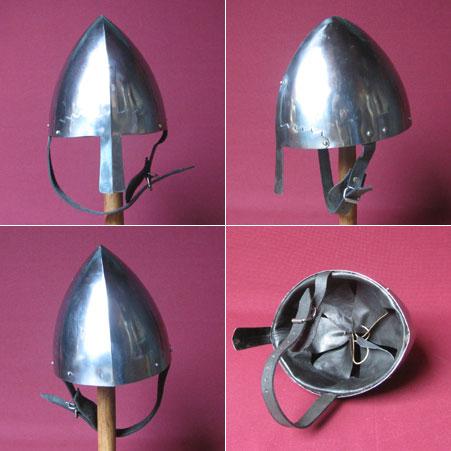 Viking-Norman nasal helmet, 900 AD