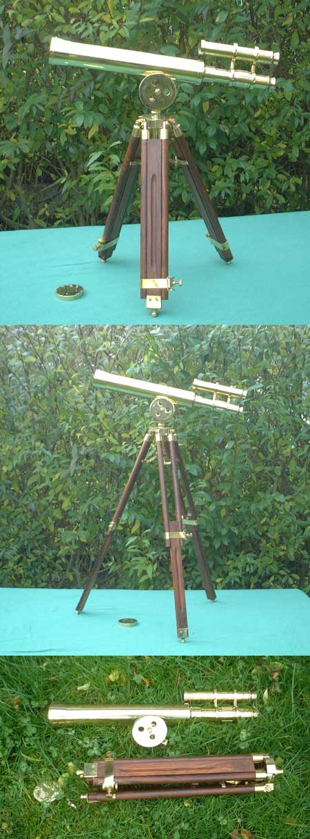 Old harbour master replica 18 inch telescope