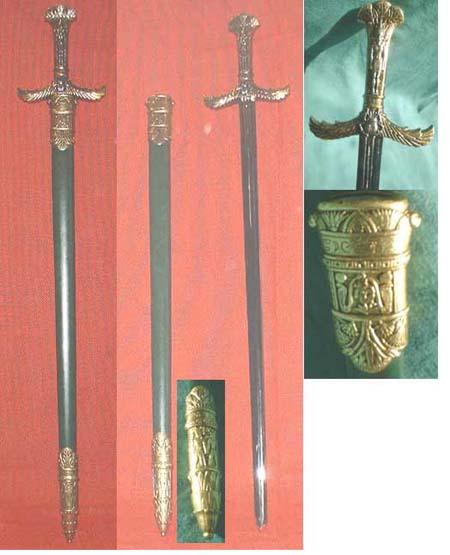 Egypt Cleopatra's palace guard sword