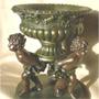 Historismus - Barock - Schale, Bronze Imit.